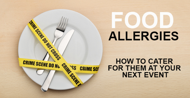 Food allergies and event planning